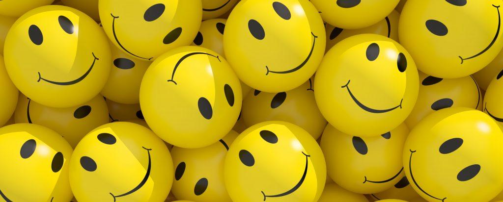 Ein Haufen Smileys